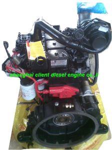 De Dieselmotor van Cummins 4BTA3.9-C125 van de Motor van de bouw en van de Techniek