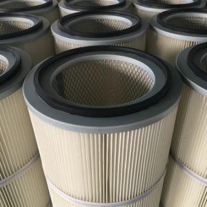 A coleta de poeira do cartucho do filtro de ar lavável material poliéster