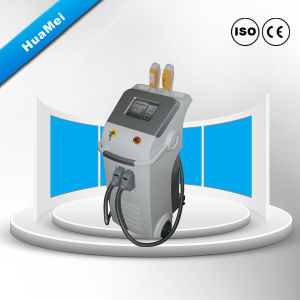 Máquina de remoção de pêlos IPL (manípulos duplos HR &SR)