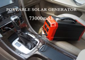 Heavy-Duty 270Wh Solar Generator Portable Netzteil mit Off-Grid-System