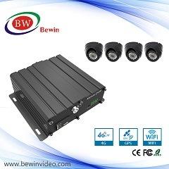 4 Kanal Ahd beweglicher DVR Ableiter-Kartenspeicher 720p mit G/M 3G GPS WiFi für Auto-Bus und Klemme Mdvr für System CCTV-Cftv