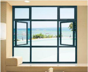 Finestra larga di vista sul mare di visione della stoffa per tendine di alluminio