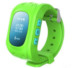 Cartão SIM GPS Mobile/ Celular Vigilância inteligente para crianças/ Crianças com Botão de Alarme de Emergência