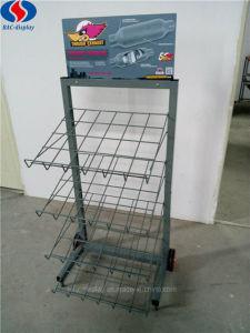 4 Schichten Fußboden-Typ kundenspezifische Metallbildschirmanzeige-Zahnstange für Automobil-Abblasdämpfer