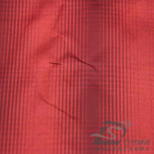 75D 210t Tecidos Jacquard Favo 100% poliéster Pongées Fabric (HYE013TPF)