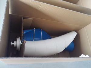 400W Turbogenerator van de Wind van de 12V/24V de Verticale As voor Huis