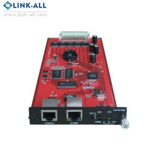 コンソールポート/10/100bt RJ45 Nmcネットワークカード媒体のコンバーターのカード