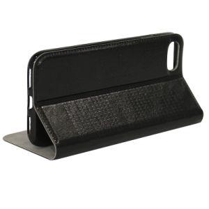 新しいクラムシェルのiPhone 7のケースのIphonexのための磁気吸着カードの札入れの携帯電話のホルスターの電話箱