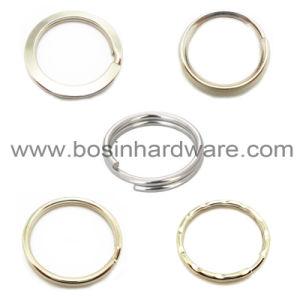 고품질 금속 검정 스테인리스 쪼개지는 반지