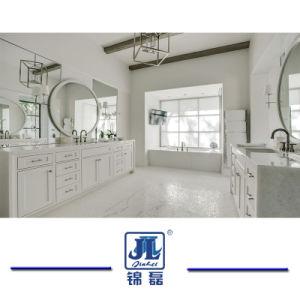 タイルのための磨かれた純粋な結晶させた白い中国の大理石か白いヒスイの大理石か平板またはカウンタートップまたは床または壁またはクラッディング