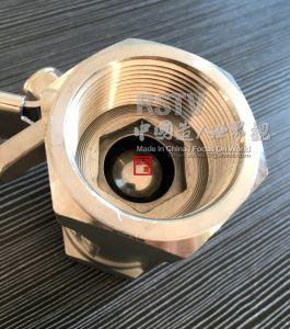 Valvola a sfera del filetto femminile 1PC dell'acciaio inossidabile del getto con 2000wog