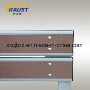 木製のプラスチックおよび鋳鉄材料WPCの屋外の椅子の座席のベンチ