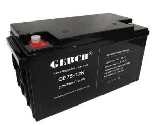 12V 75AH надежные свинцово-кислотный аккумулятор для ИБП EPS солнечная энергия ветра