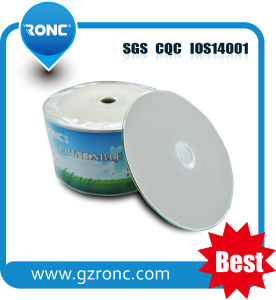 Lo spazio in bianco stampabile all'ingrosso DVD all'ingrosso con Shrinkwrap Pacakge