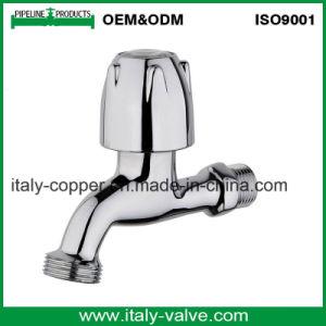 Kundenspezifischer Qualitätspoliermessingwasser-Hahn (AV2063)