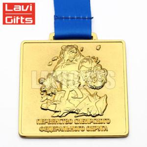 La parte superior la venta a bajo precio de la medalla de Deporte Regional personalizado