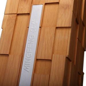 La moda de bambú carbonizado Caja de vino de la caja de regalo