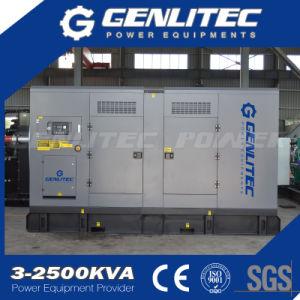 Generatore diesel insonorizzato a basso rumore Cummins di 320kw 400kVA