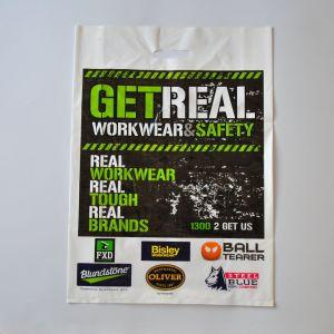 Mehrfachverwendbarer Plastik stempelschnitt Griff-Einkaufstasche-Locher-Loch-Griff-Beutel