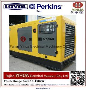 générateur 34kw/42.5kVA silencieux diesel avec du ce Approval-20170829A d'engine de Lovol-Perkins