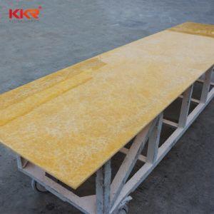 Kkrの白い建築材料の半透明な樹脂の固体表面