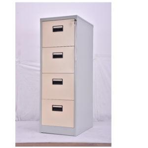 Armoire 4 tiroirs en acier de fichier oem personnalisés pour les meubles de bureau