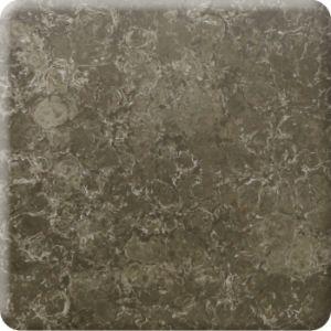 Het acryl Marmer van het Patroon van Veining van het Blad kijkt Stevige Oppervlakte Corian (181008)