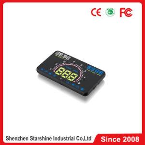 Pantalla LED de alquiler de HUD E350 con la advertencia de exceso de velocidad