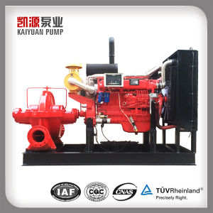 Xbc дизельного двигателя в горизонтальном положении насос воды для тушения пожаров