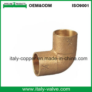 OEM de alta presión codo de tubo de bronce (AV-QT-1028)