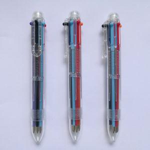 6개의 색깔 선전용 펜 (D601)