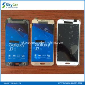 De la fábrica de la fuente pantalla táctil original del LCD por completo nueva para Samsung J7 2016