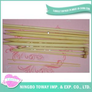 Agulhas de confeção de malhas de bambu de madeira feitas sob encomenda por atacado do gancho de Crochet