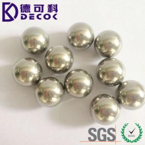 A alta precisão 3.175mm 4.763mm 5.556mm 9.525mm 15.875mm AISI304 440c 420c a Esfera de Aço Inoxidável