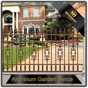 Giardino di alluminio del metallo moderno che recinta decorazione per la villa