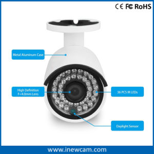 IP van de auto-Nadruk van IRL 30m 4MP Poe van Onvif Camera