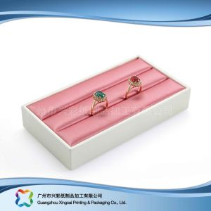 Роскошные деревянные/бумага дисплей упаковки для просмотра украшения подарок (xc-dB-013A)