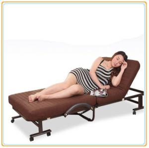 Venta caliente tamaño adulto cama plegable, conveniente mover la cama