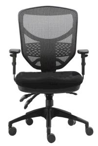 現代人間工学的のコンピュータのオフィスの椅子の旋回装置のコンピュータのナイロン基礎オフィスの椅子