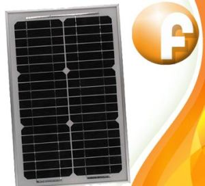 15W Monocrystalline плоской панели солнечных батарей (FL-М15-12)