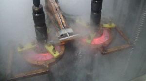 차축 열처리 (XG-100B)를 위한 유도 가열 기계