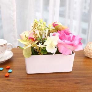 Сладкие подарки британских закрывается стиле искусственные цветы настольное украшение