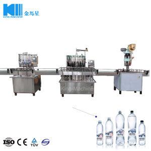 Pequeñas botellas de PET de llenado automático de lavado Máquina Tapadora