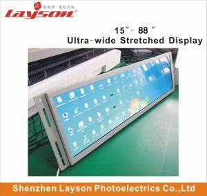 TFT de 37 Ultra Wide esticada Bar esticada Leitor de LCD HD, LCD com ecrã de publicidade do AD