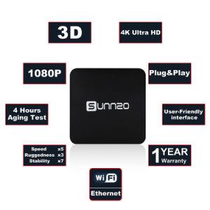 Doos van TV van Sunnzo G8 de Mini Androïde Slimme met de Steun van de Opslag van Amlogic S912 1GB Memory/8GB 4K, WiFi