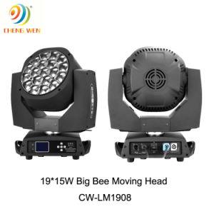 開催地の大きい目19 PCSの賃借りの移動ヘッド効果LEDの照明
