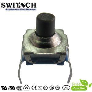 Interruttore impermeabile di tatto del piede del PWB di IP67 7.2*7.2mm (TS72W-069C)