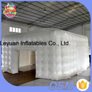Im Freien Hochleistungs-Belüftung-Plane-Facetten-aufblasbarer Zelt-Lieferant