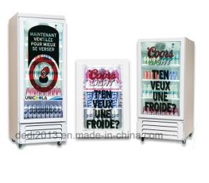 Dedi 43polegadas Leitor de mídia livre de gelo display LCD transparente congelador