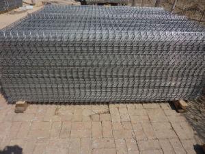 Doble el cable forma redonda de la parte superior de cerco de malla soldada